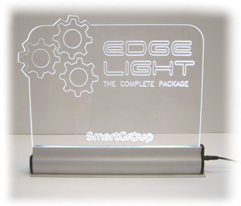 acrylic edge light