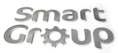 aluminium flat cut lettering