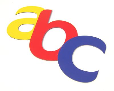 aluminium composite letter image