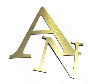 aluminium composite letters