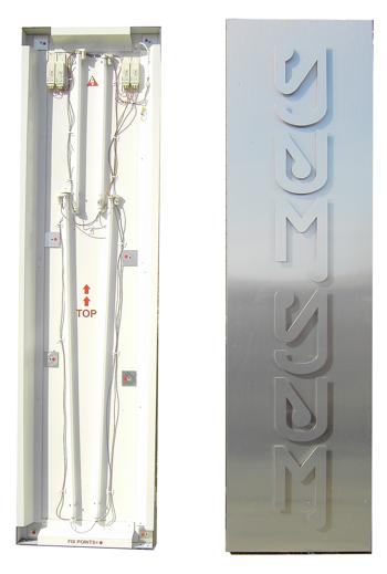 aluminium composite sign tray kits