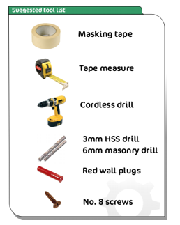 cup and peg letter fixing tool list