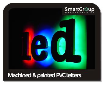 led illuminated pvc letters