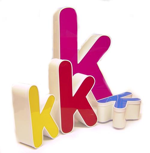 internally illuminated letters