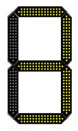 led number illuminated