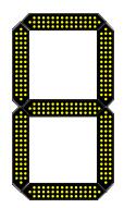 led number grid