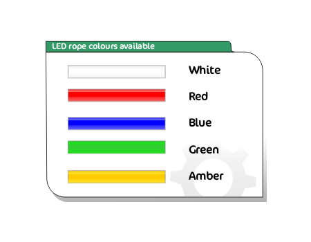 led rope colours