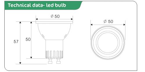 led spot light data