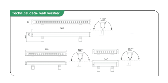 led wall washer data