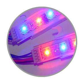 multi coloured led modules