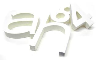 pvc lettering