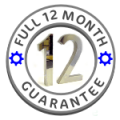 Full 12 Month Warrantee