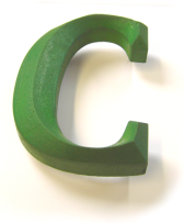 carved sign foam letter