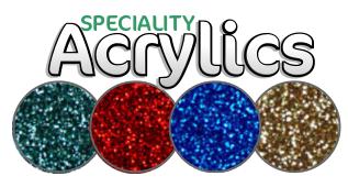speciality acrylic sheet
